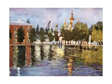 The Tsar's Church, Peterhof Giclee Print by Mima Nixon