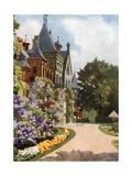 Schloss Zu Gmunden Giclee Print by Mima Nixon