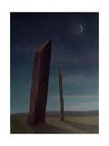 Stenness at Dusk, 2005 Giclee Print by Ann Brain