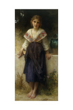 Un Moment de Repos, 1900 Giclee Print by William Adolphe Bouguereau