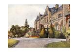 Schloss Friedrichshof Giclee Print by Mima Nixon