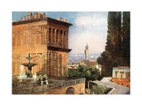 Boboli Gardens, Florence Giclee Print by Mima Nixon