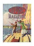 The 1919 Grand American Handicap Trapshooting Tournament, Front Cover of the 'Dupont Magazine',… Giclee Print by  American School