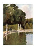 The Fountain of Diana, Versailles Giclee Print by Mima Nixon