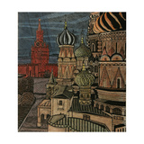 The Cupolas of St. Basil's Cathedral, 1970 Giclee Print by Masabikh Akhunov