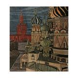 The Cupolas of St. Basil's Cathedral, 1970 Giclee Print by Masabikh Akhunov