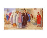A Muslim Wedding, 1941 Giclee Print by  European School