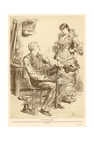 Le Nouveau Riche Giclee Print by Frederick Barnard