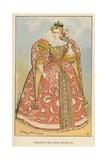 Toilette de Cour Henri III Giclee Print by Albert Robida