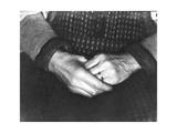 The Hands of Assunta Modotti, San Francisco, 1923 Photographic Print by Tina Modotti