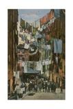 Truogoli Di Santa Brigida; Genoa. Postcard Sent in 1913 Giclee Print by  Italian Photographer