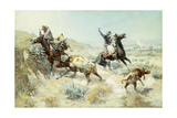 Range Mother, 1908 Giclee Print by Charles Marion Russell