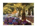 The Cinerarias, the Achilleion, Corfu Giclee Print by Mima Nixon