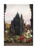 The Rose Garden, Friedrichshof Giclee Print by Mima Nixon