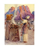 The Golden Calf Giclee Print by William Henry Margetson