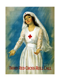 Third Red Cross Roll Call, 1918 Giclee Print by William Haskell Coffin
