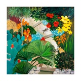 Exotic Gardens, 2013 Giclee Print by Maggie Rowe