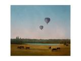 Northamptonshire Balloons, 2005 Giclee Print by Ann Brain