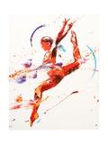Penny Warden - Gymnast Two, 2010 Digitálně vytištěná reprodukce
