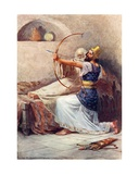 The Arrow of the Lord's Deliverance Giclee Print by William Henry Margetson