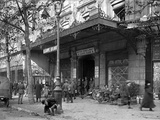 The Modern Hotel Converted into the British Army and Navy Leave Club, Plade de La Republique,… Photographic Print by Jacques Moreau