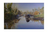 Saltisford Arm, Warwick, 2003 Giclee Print by Kevin Parrish