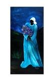 La Dame En Bleu, 2009 Giclee Print by Patricia Brintle