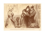 The Governess Giclee Print by Frederick Barnard