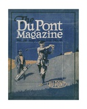 Golfing, Front Cover of the 'Dupont Magazine', May-June 1921 Giclee Print by  American School