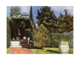 The Garden of the Crown Prince's Palace, Athens Giclee Print by Mima Nixon