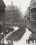 The Empire Pays Homage to its Victorious Warriors on Peace Day - the Lord M Photographic Print by  English Photographer