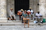 Street Band, Havana, Cuba Photographic Print