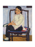 Chinese Girl; Chinesisches Madchen, 1912 Giclee Print by Emil Orlik