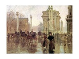 The Dewey Arch, Madison Square Park, c.1900 Giclee Print by Paul Cornoyer