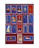 Coronation Regalia and Crown Jewels of the United Kingdom, 1937 Giclee Print