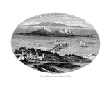 Howth Harbour and Ireland's Eye, Illustration from 'Irish Pictures' by Richard Lovett, 1902 Giclee Print by  Irish School