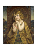 The Lonely Princess, 1921 Giclee Print by Bernard Munns