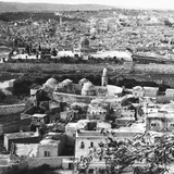 Jerusalem the Holy City, Goal of the Crusaders, Rescued Forever from the Turks, 1917 Photographic Print by  English Photographer