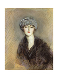 Portrait of Lucette, c.1913 Giclee Print by Paul Cesar Helleu