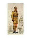 Regimental Sergeant-Major of the Witwatersrand Rifles, South Africa, 1938 Giclee Print