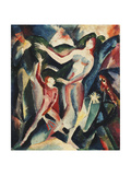 The Exotic Dance; Der Exotische Tanz, 1917 Giclee Print by Josef Eberz