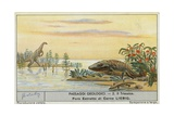 Prehistoric World Giclee Print by  European School