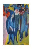 Street Scene; Strassenszene, 1913 Giclee Print by Ernst Ludwig Kirchner