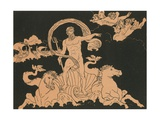Neptune Stilling the Waves Giclee Print by Bartolomeo Pinelli