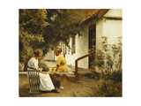 In the Garden, 1913 Giclee Print by Peter Vilhelm Ilsted