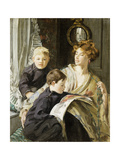 The Picture Book, 1911 Giclee Print by Hilda Fearon