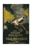 The Great Battle in France, 1918 Giclee Print by Hans Rudi Erdt