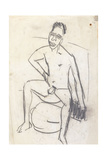 Sam the Negro (Verso); Sam Der Neger (Verso), c.1905 Giclee Print by Ernst Ludwig Kirchner