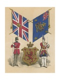 Twenty-First, or Royal North British Fusiliers Giclee Print by  English School