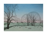 Frosty Morning, 2012 Giclee Print by Ann Brain